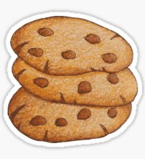 Cookies; Chocolate lovers; Chocolate chip cookies; Cookie lovers; Sweet life; Love these cookies Sticker