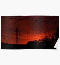 1007 - HDR Panorama - Dawn Poster