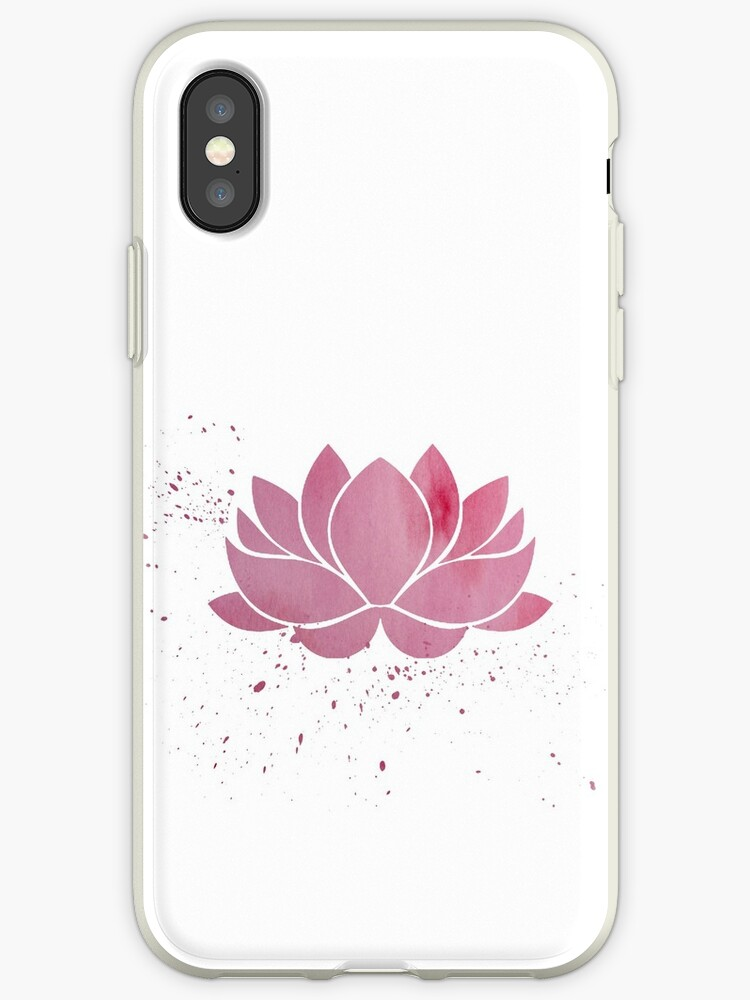 Vinilos Y Fundas Para Iphone Rosa Flor De Loto Budista De