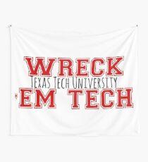 Wreck 'Em Tech Wall Tapestry