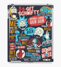 Rick and Morty wallpaper / iphone case iPad Case/Skin
