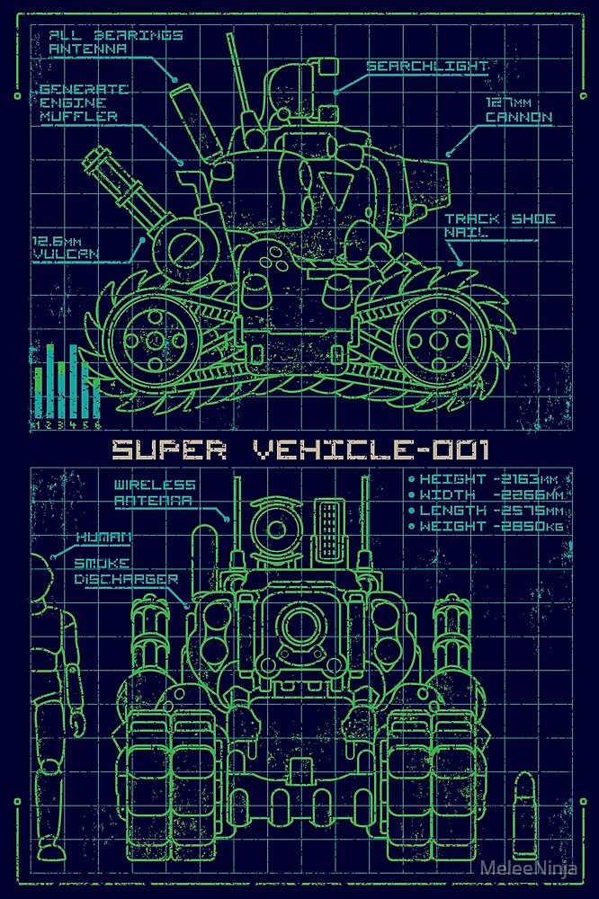 Blueprint: SV 001 by MeleeNinja