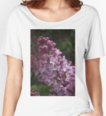 LOVELY LILAC Women's Relaxed Fit T-Shirt