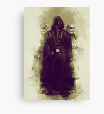 Star wars - darth vader & stormtrooper Canvas Print