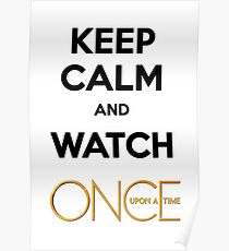 Keep Calm and Watch OUAT Poster