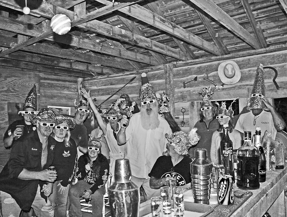 Tin Foil Hat Gathering by CKEphotos