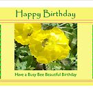 Busy Bee Birthday by KazM