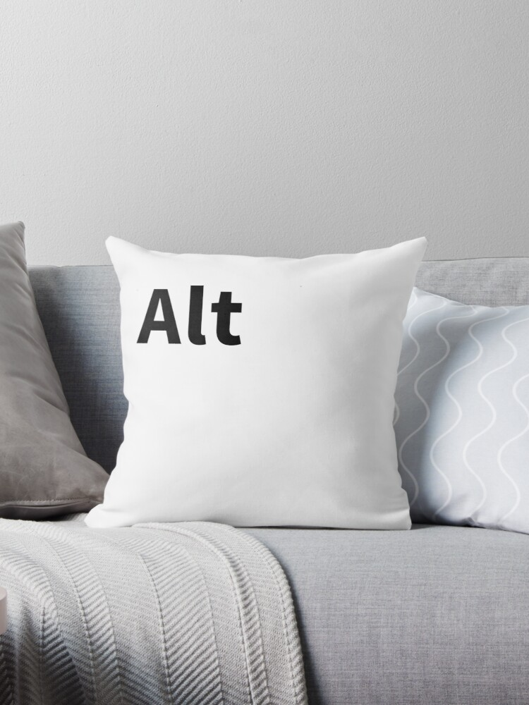 Alt Pillow | Alternate Key Pillow by thatnothing