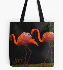 pink flamengo Tote Bag