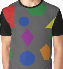 Dark Shapes Graphic T-Shirt