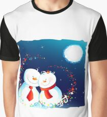 Snow Lovers Graphic T-Shirt