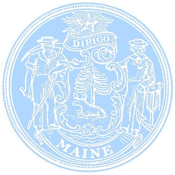 Maine State Seal by WeMakeHistory