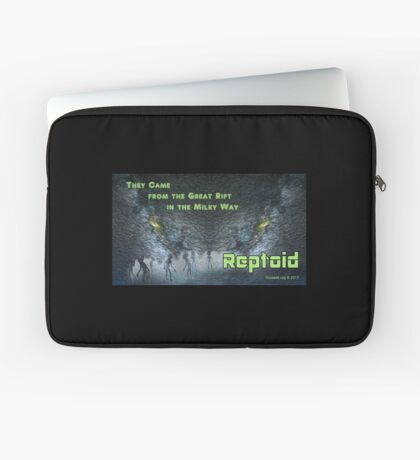The Great Rift: Reptoid Laptop Sleeve