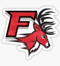Fairfield University Stags Logo Solo: Glitter Sticker
