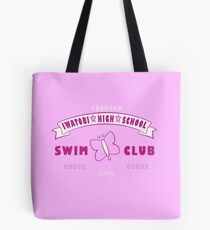 Free! Iwatobi Swim Club Shirt (Rei, Member) pink Tote Bag