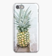 Pineapple Beach Waves Water Ocean Summer Pattern Graphic iPhone Case/Skin