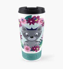 little rad raccoon  Travel Mug
