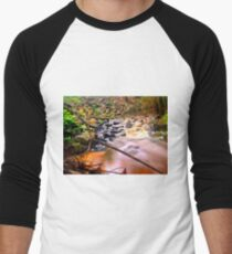 Exotic long exposure Men's Baseball ¾ T-Shirt