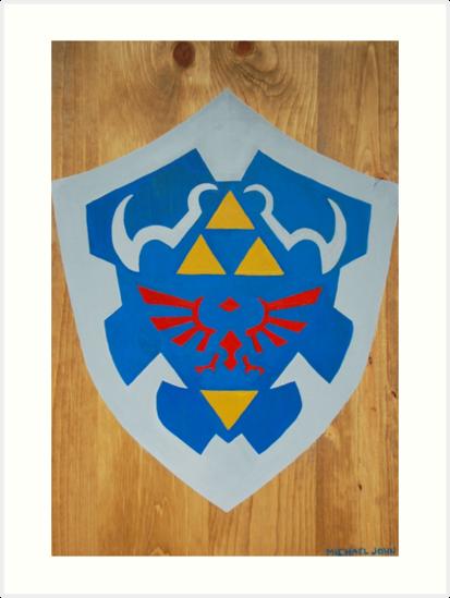 Hyrule Shield by Michael John