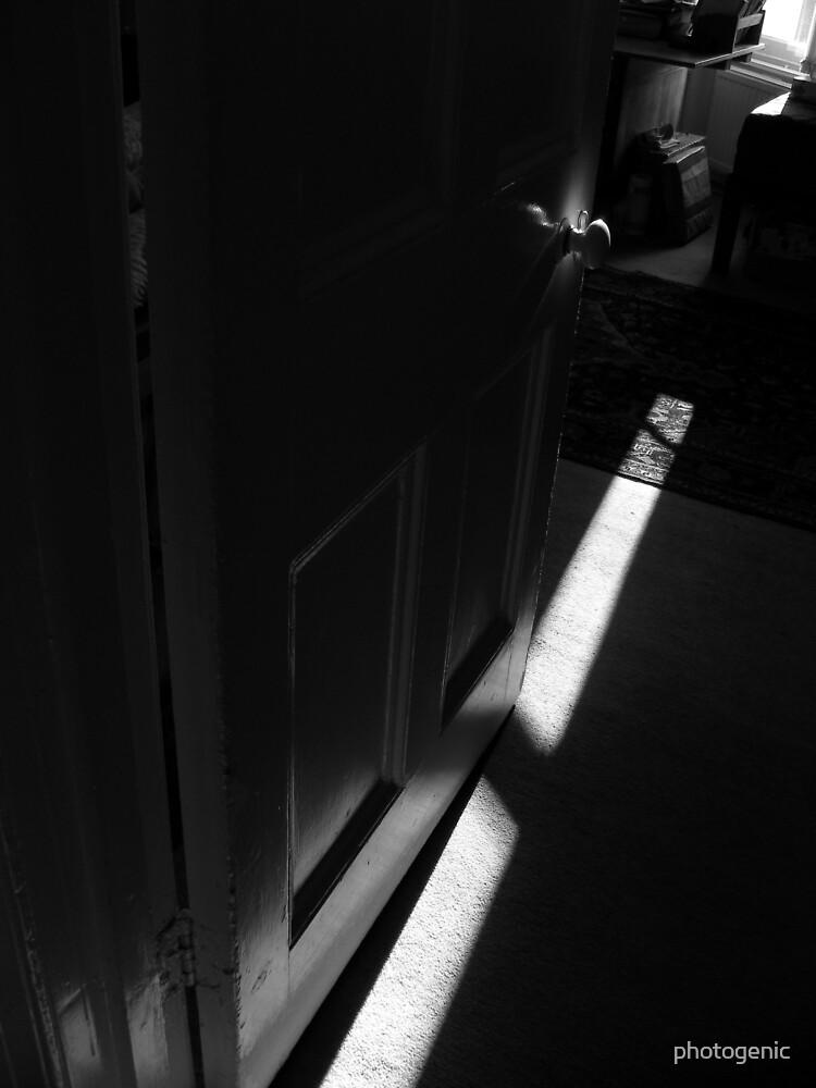 the door handle by photogenic