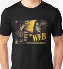The Web - vintage horror movie poster Unisex T-Shirt