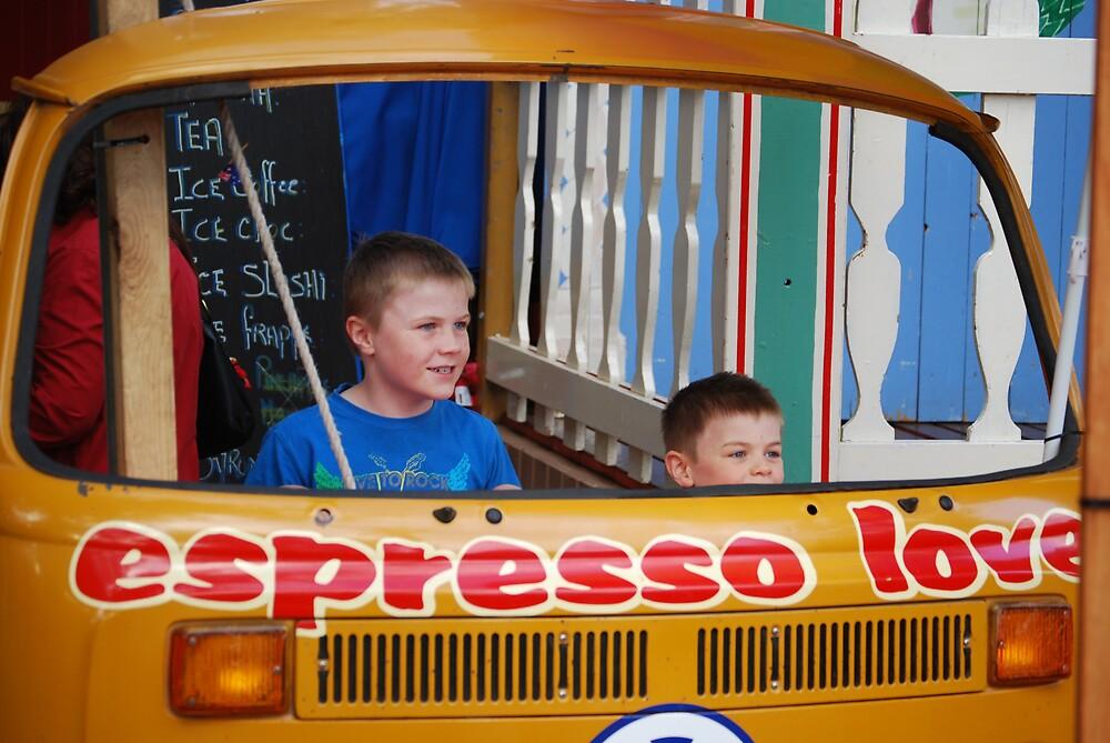 Combi van Coffee by Princessbren2006