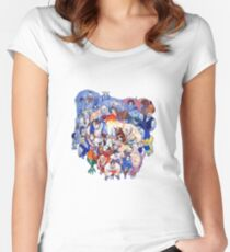 The Street Fighter Crew Women's Fitted Scoop T-Shirt