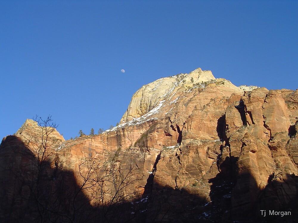 Moon Mountain by Tj  Morgan
