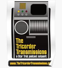 The Tricorder Transmissions Logo Poster