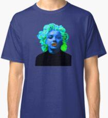 Paradox of Marylin Monroe (blue) Classic T-Shirt