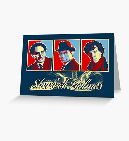 Sherlock Trilogy x3 - RYB Greeting Card