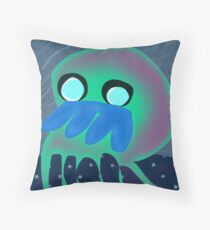 Squid No. 27 - Haunted Winds Throw Pillow