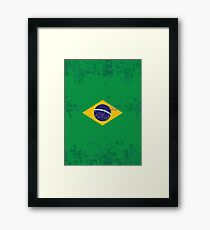 Flag of Brazil Framed Print