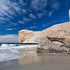 Tunnel Beach 1 by Werner Padarin