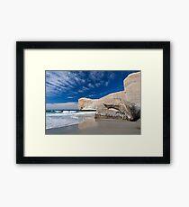 Tunnel Beach 1 Framed Print