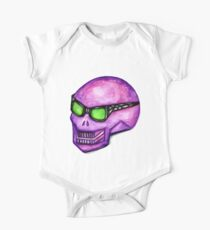 Pink Punk Skull Kids Clothes