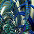 Blue Fusion  by Elaine Bawden
