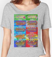 Mega Man Battle Network Title Screens Women's Relaxed Fit T-Shirt