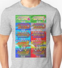 Mega Man Battle Network Title Screens T-Shirt
