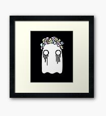 cathartic ghost Framed Print