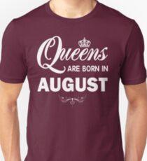 Camiseta unisex Camiseta Queens in Born August