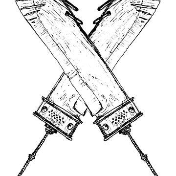 Crossed Swords by Gaius