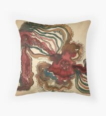 RIVER WATERCOLOUR Throw Pillow