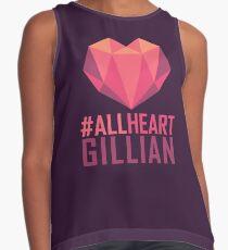 #AllHeartGillian - Pink  Contrast Tank