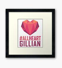 #AllHeartGillian - Pink  Framed Print