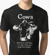 Cows Tri-blend T-Shirt