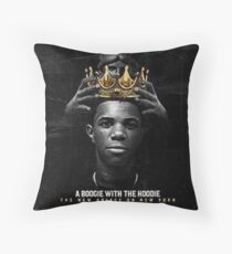A Boogie Wit da Hoodie Throw Pillow