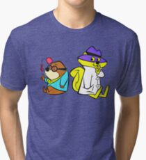 secret squirrel and morocco mole Tri-blend T-Shirt