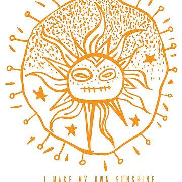 I Make My Own Sunshine  by toypicnic