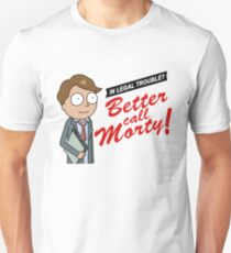 Better Call Morty - Rick and Morty T-Shirt Unisex T-Shirt
